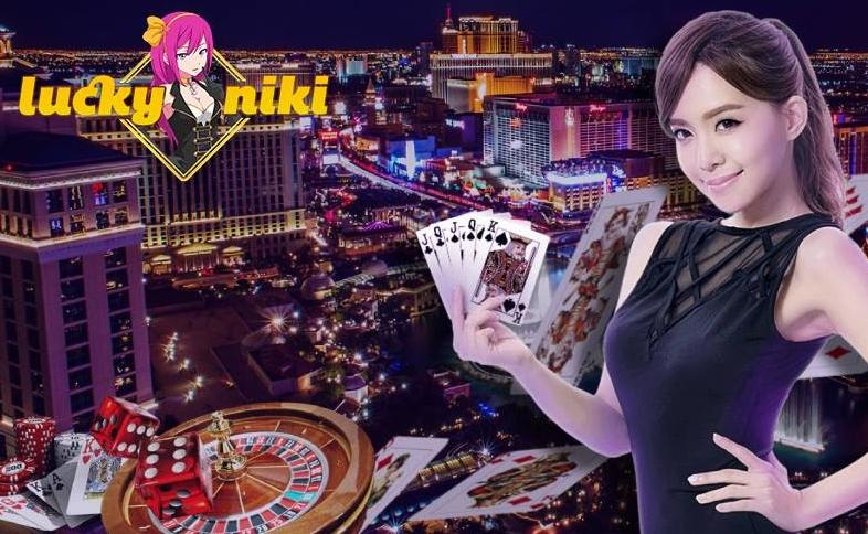 ライブカジノのテーブル多数!ラッキーニッキーで美人ディーラーと遊ぼ